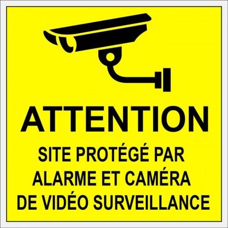 Autocollant ou plaque de sécurité contre voleurs