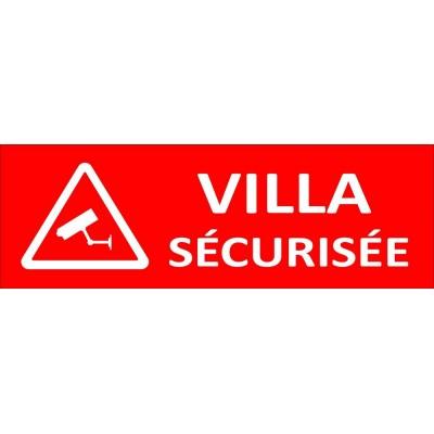 Villa sécurisée