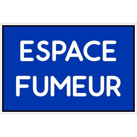 Panneau d'affichage espace fumeur