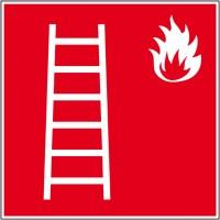Affichage de sécurité échelle de secours autoco...
