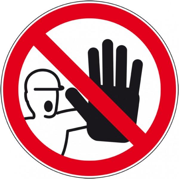 Panneau ou autocollant interdiction d'entrer