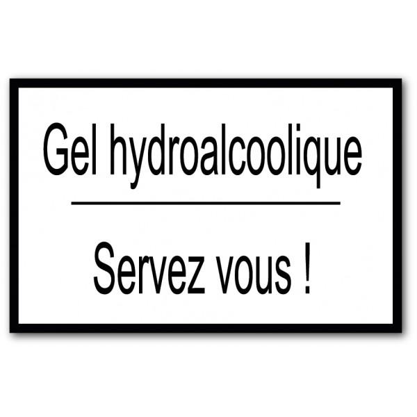 Gel hydroalcoolique, servez vous !