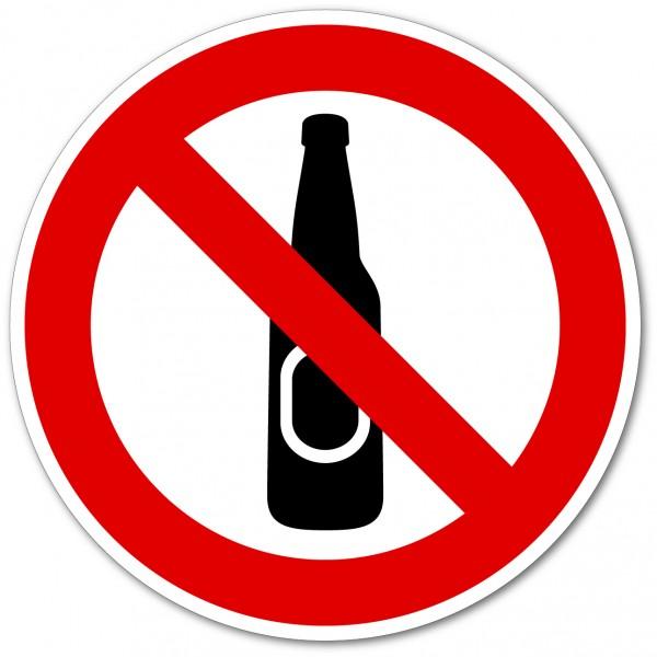 Bouteilles en verre interdites
