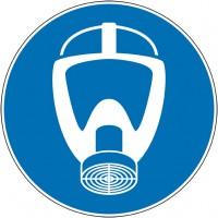 Adhésif panneau obligation port masque protection...