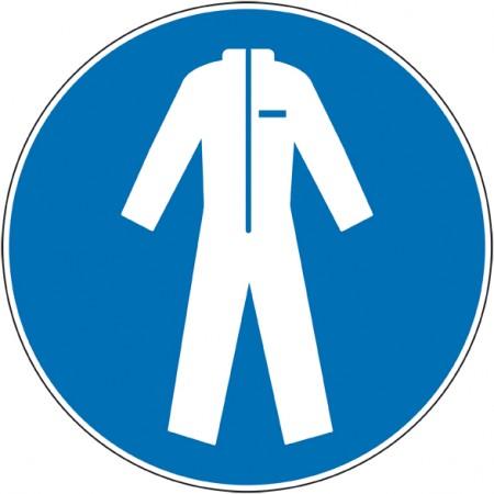 Autocollant et panneaux port de combinaison obligatoire