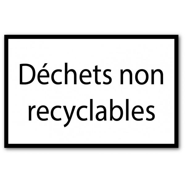 Tri déchets non recyclables