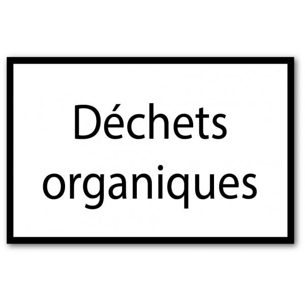 Tri déchets organiques