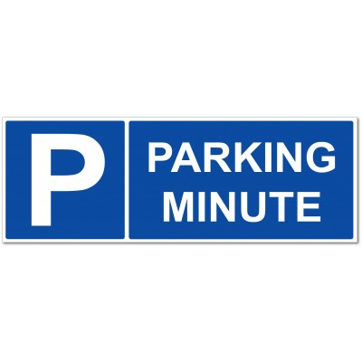 Parking minute