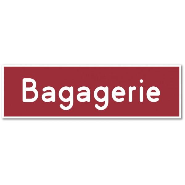 Bagagerie, autocollant et plaque pour porte - 9 co...