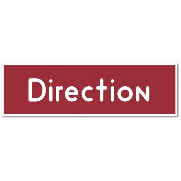 Direction, autocollant et plaque pour porte - 9 co...