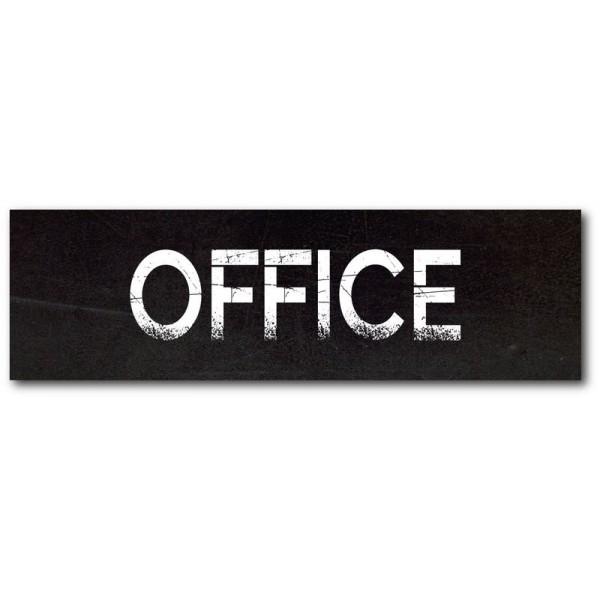 Office imprimé effet ardoise