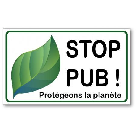 Stop pub, protégeons la nature