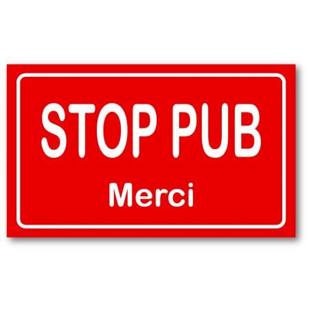 Stop pub rouge