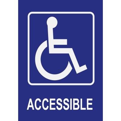 Accessible pour personnes à mobilité réduite, a...