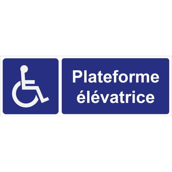 Plateforme élévatrice pour personnes invalides, ...